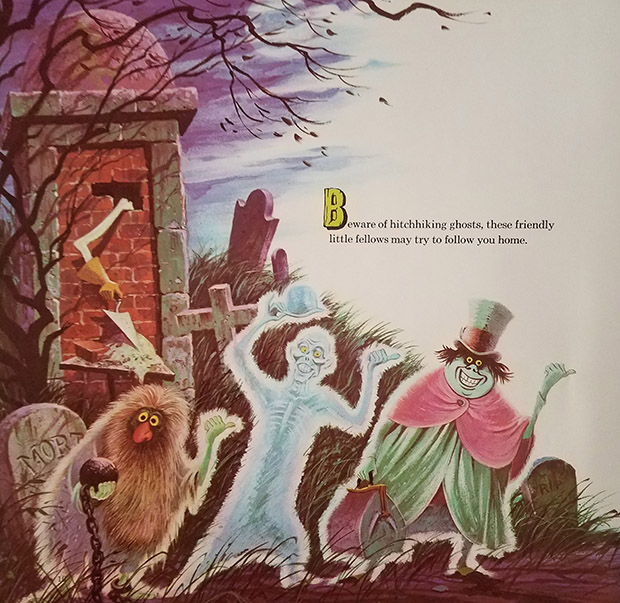 haunted mansion record hitchhiking ghosts