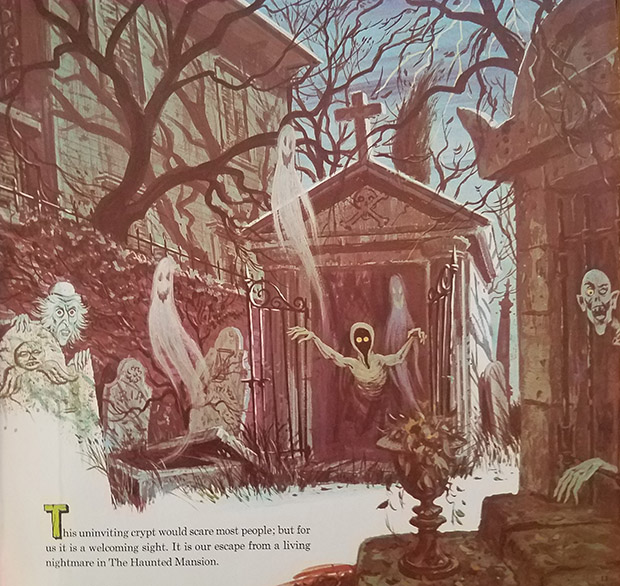 haunted mansion record crypt