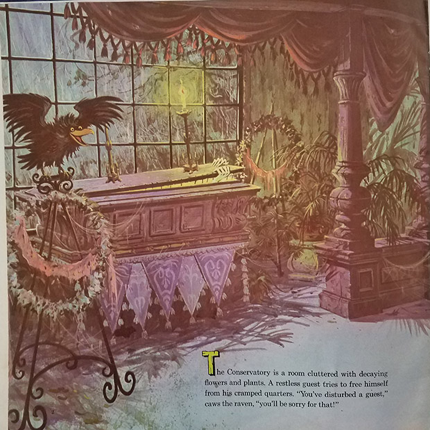 haunted mansion record and book