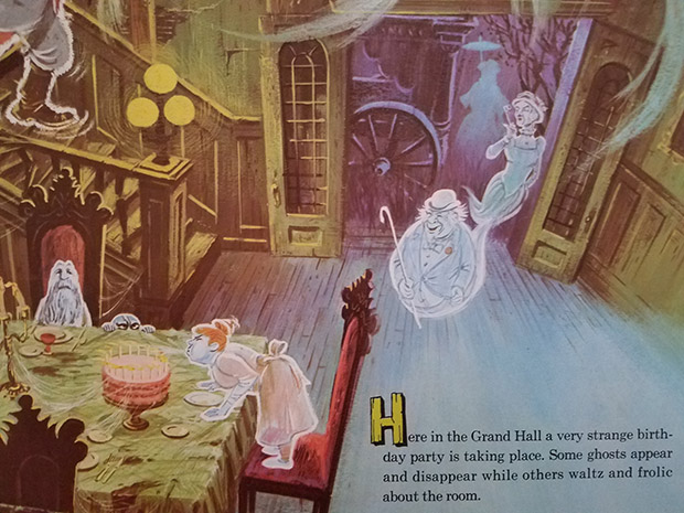 haunted mansion record ghost party