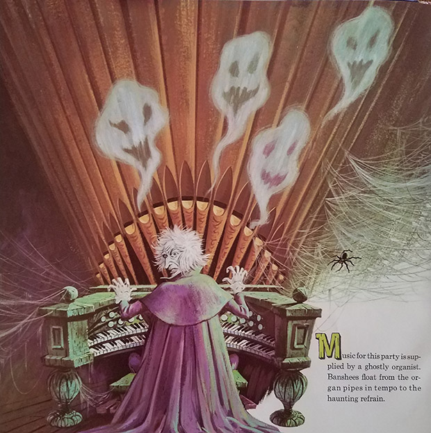 haunted mansion record organist