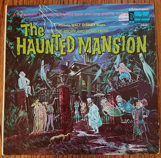 haunted mansion record lp
