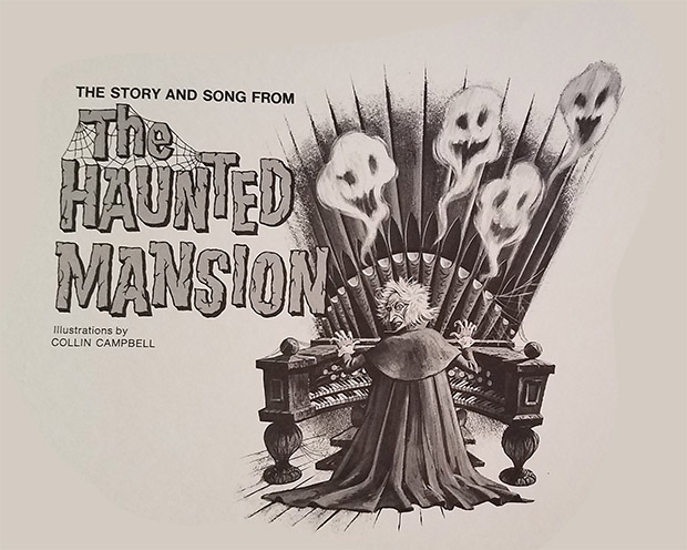 haunted mansion record
